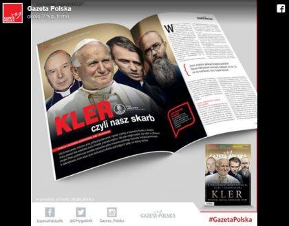 Rewelacyjna reakcja Gazety Polskiej na film Kler