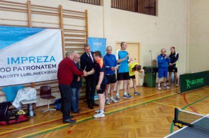Zapraszamy na V Turniej o mistrzostwo Powiatu Lublinieckiego w tenisie stołowym