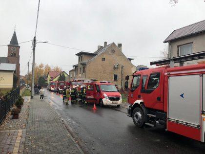 Sezon grzewczy – pierwsze interwencje strażaków.