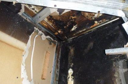 Gaśnica nie pomogła – groźny pożar w Kokotku.