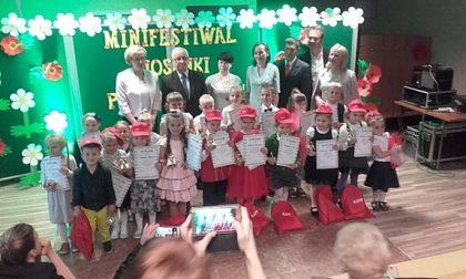Przedszkolaki z Gminy Ciasna zaśpiewały w Sierakowie Śląskim.